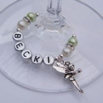 Fairy Wine Glass Charms